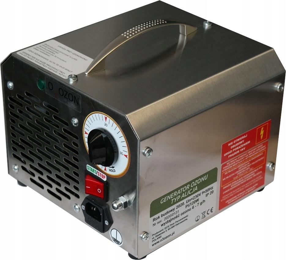 озонатор генератор озона к кондиционирования воздуха алиса 7g