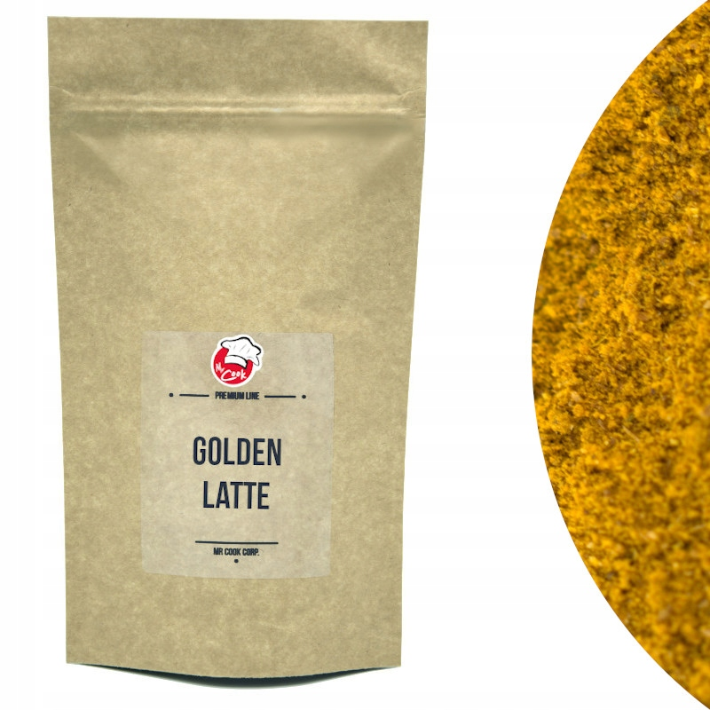 Golden Latte 300g - Golden Milk - Куркума, перец