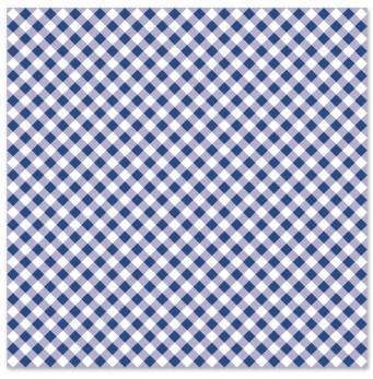 Салфетки для декупажа белая синяя сетка 2 шт.