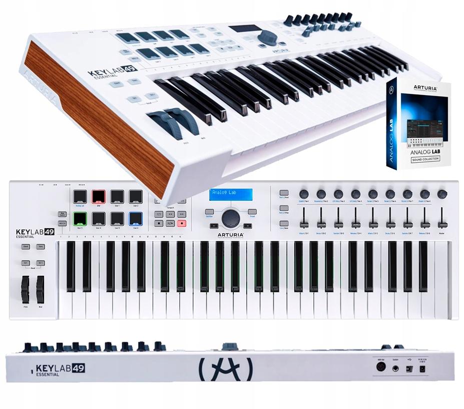 Kontrolný klávesnica Arturia Keylab 49 Základné