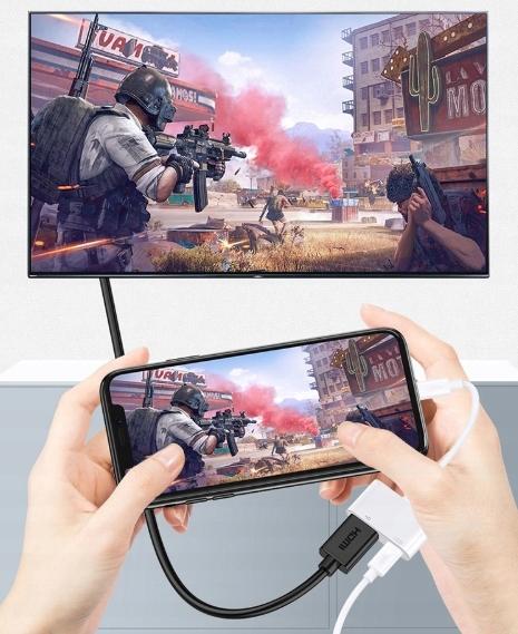 PRZEJŚCIÓWKA Adapter AV Lightning HDMI iPhone iPad Kod producenta zenwire