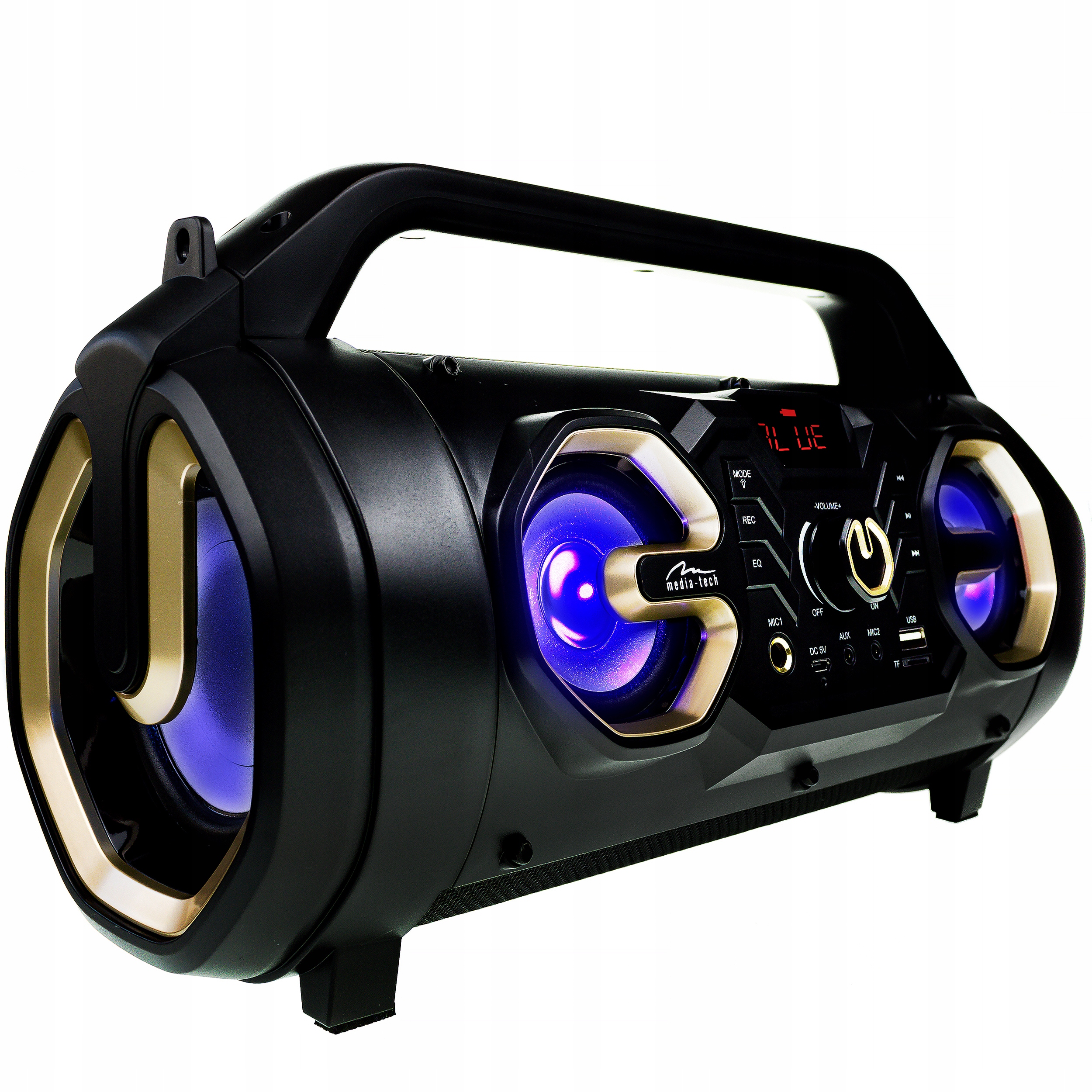 Динамик 650W Беспроводная Bluetooth Boombox Tube