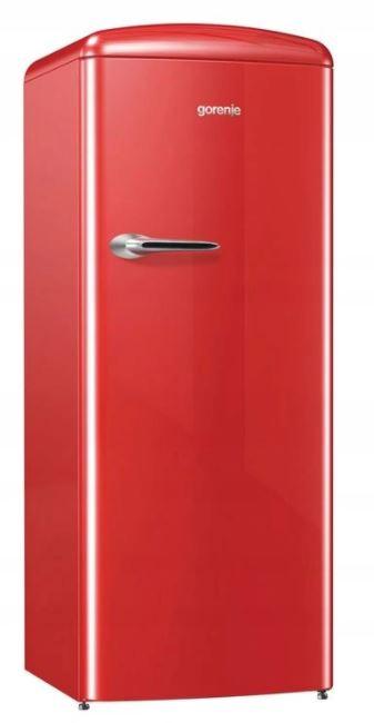 Gorenje ORB153RD chladnička A +++ 154cm RETRO ČERVENÁ