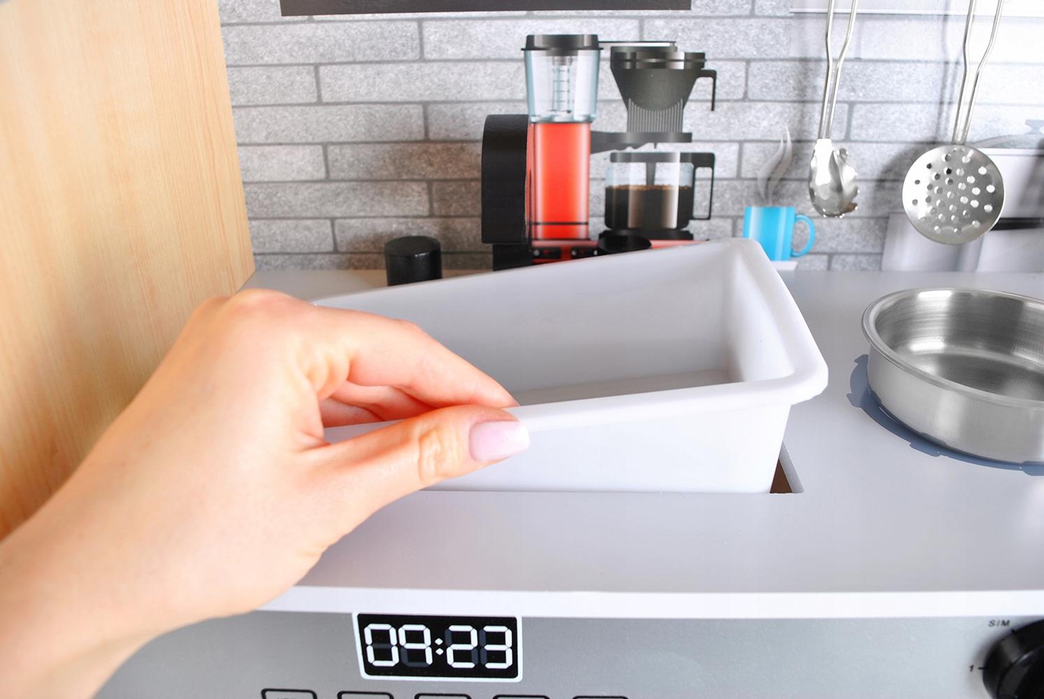 Bucătărie din lemn Soba mare pentru copii Material ușor Lemn Metal Plastic Altele