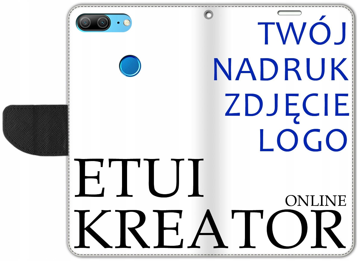 Etui Portfel Kreator Nadruk do Honor 9 Lite