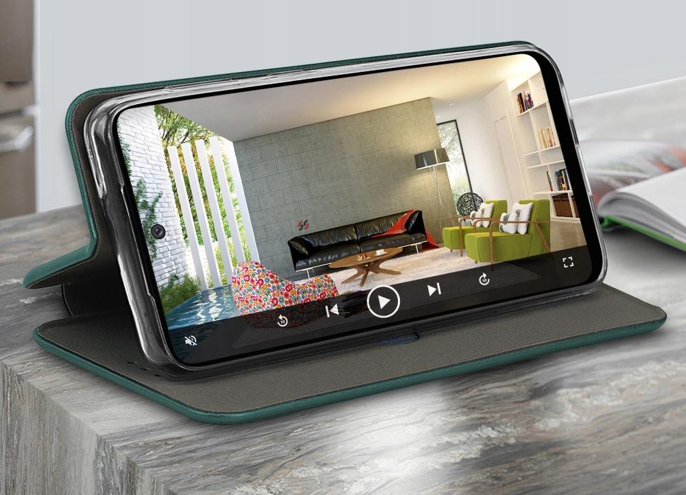 Etui do Samsung Galaxy A52 5G Skórzane Case +Szkło Przeznaczenie Samsung