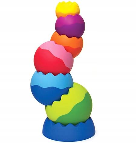 Kule Tobbles Neo wieża dla malucha kulki zębate
