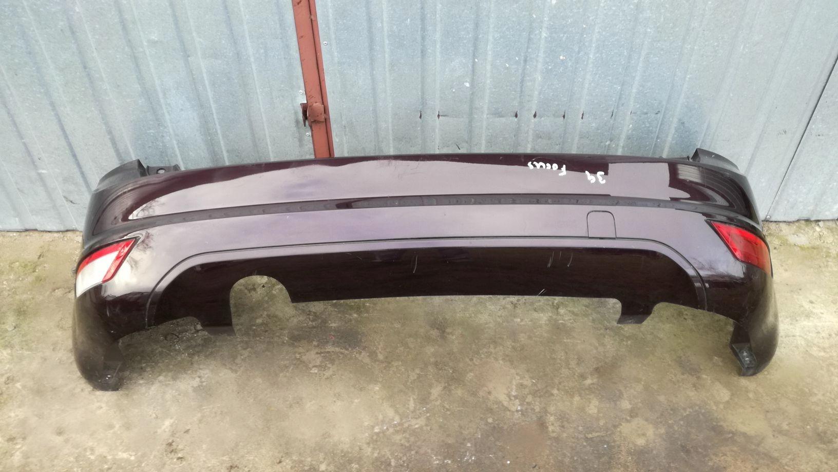 бампер задняя панель ford focus ii mk2 lift хэтчбек s8