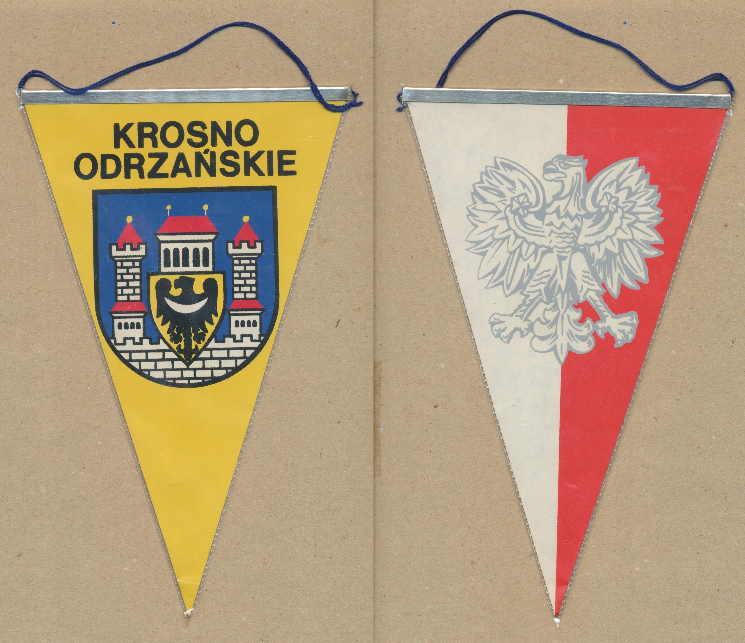 PROPORCZYK KROSNO ODRZAŃSKIE герб Польской Народной Республики