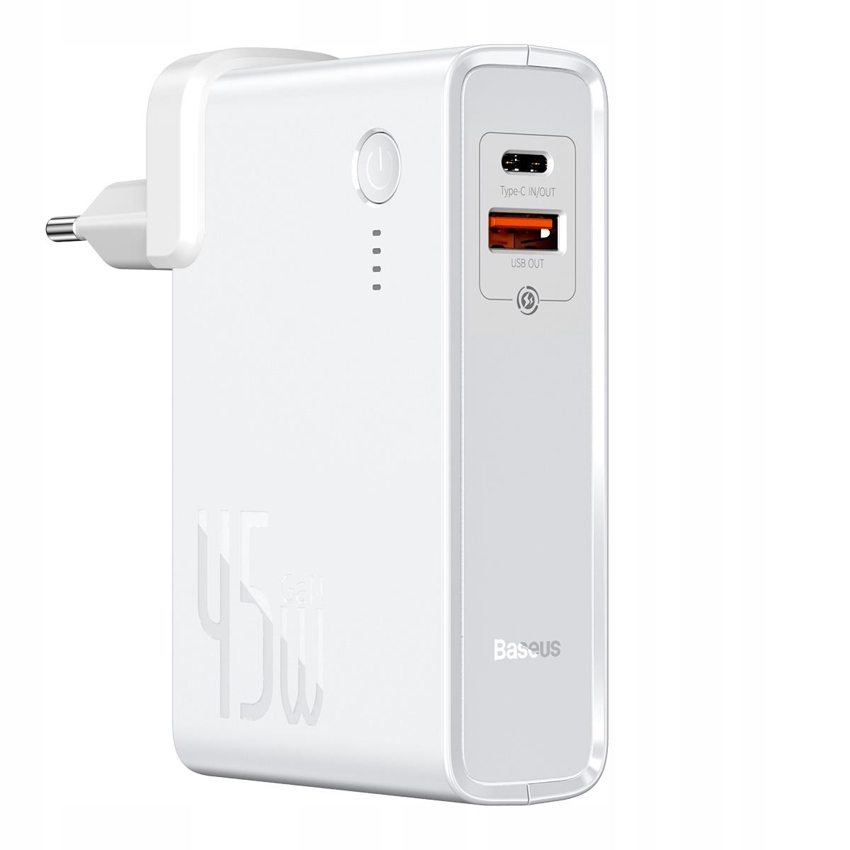 Купить Baseus 10000 mAh Powerbank белый на Otpravka - цены и фото - доставка из Польши и стран Европы в Украину.