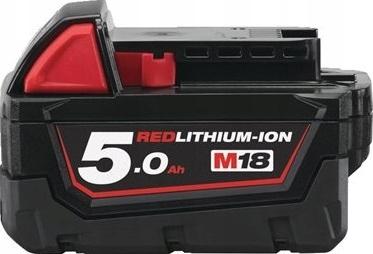Batérie Milwaukee M18 B5, 5 Ah