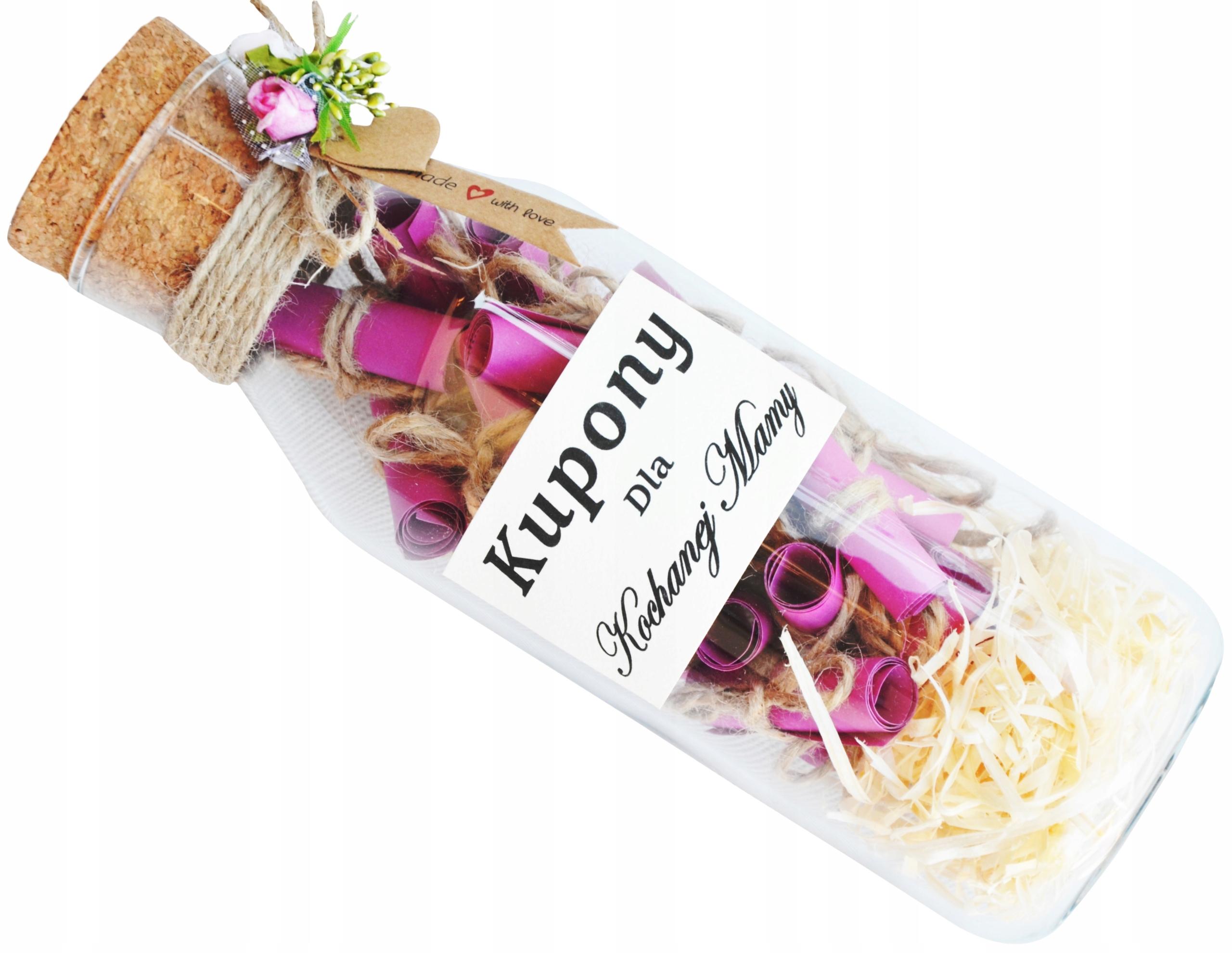 Купить КЛАССНЫЙ подарок для мамы. СУПЕР-бутылка с купонами. на Otpravka - цены и фото - доставка из Польши и стран Европы в Украину.