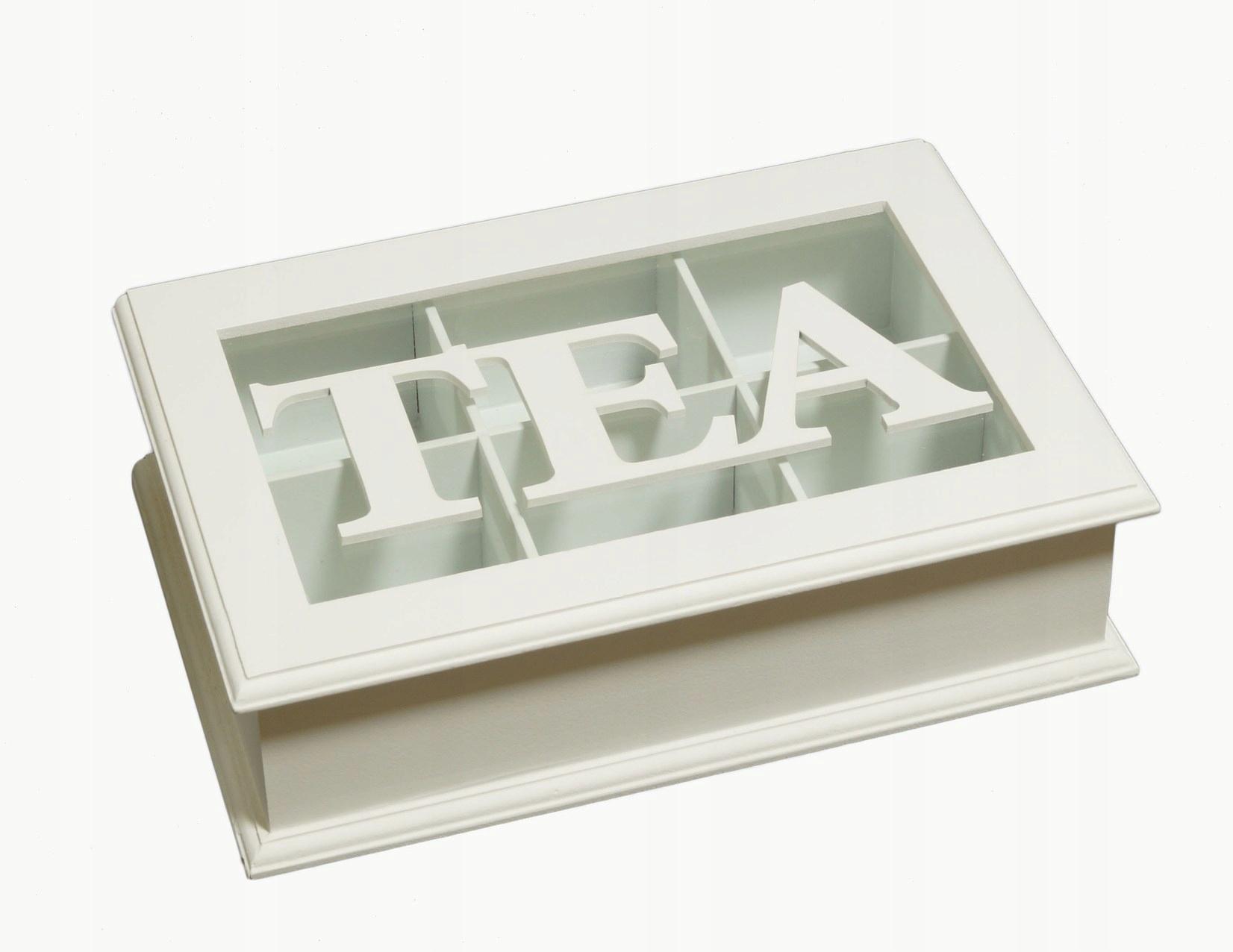 Čajová krabička Čajová kanvica Retro TEA