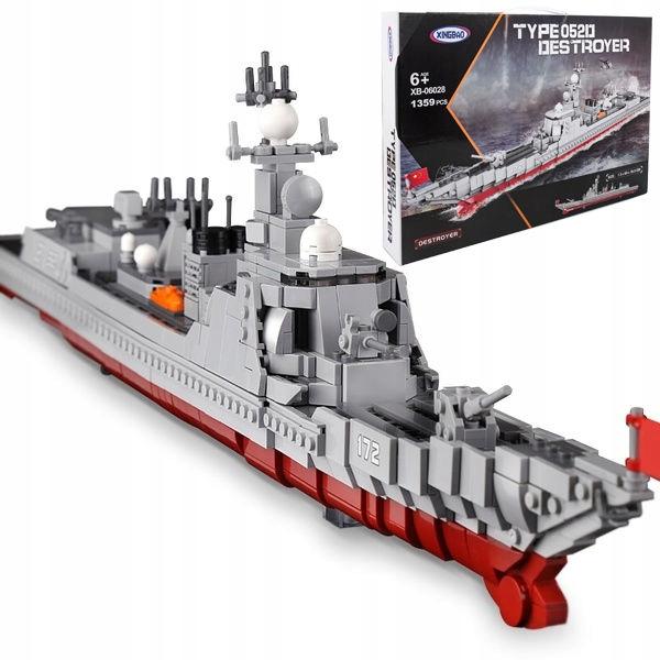 Технические блоки, совместимые с LEGO BIG SHIP