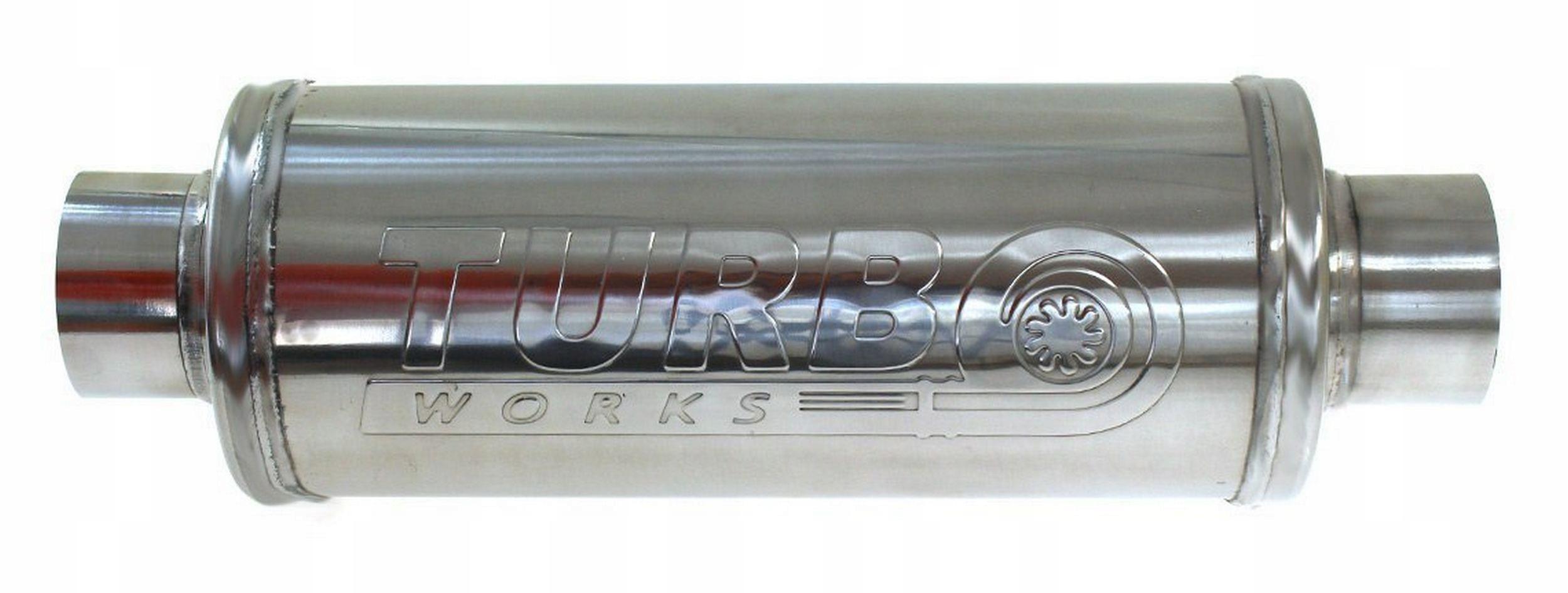 глушитель Средний 2 75'' 300mm спортивный turboworks