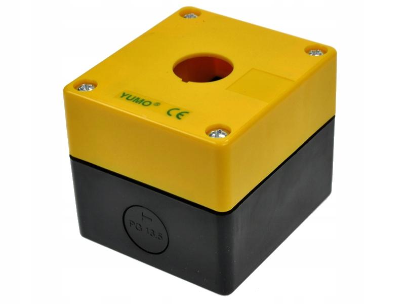 Castette Control Žltá puzdro 1 tlačidlo