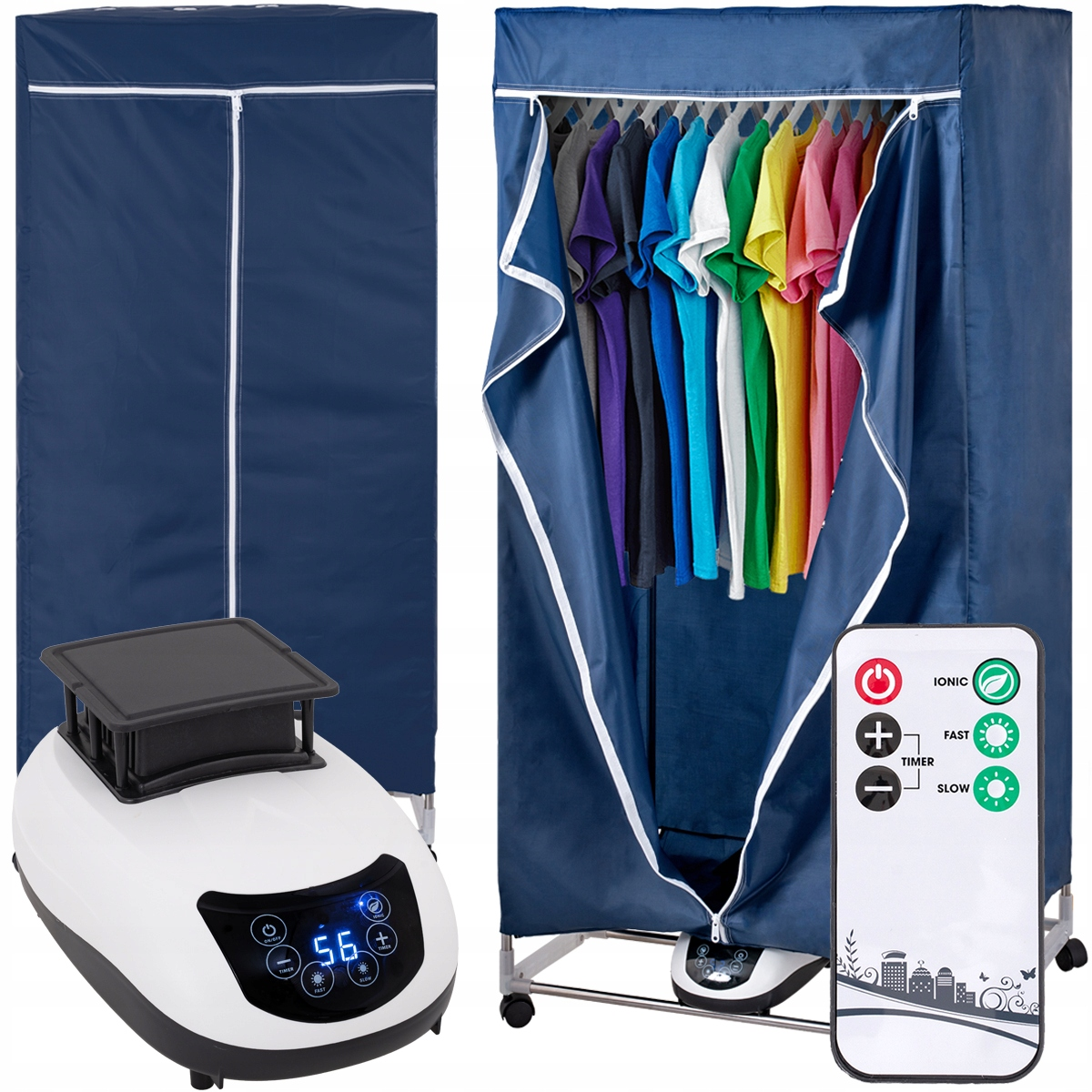 ELECTRIC LAUNDRY DRYER 1200W 4in1 240minutes