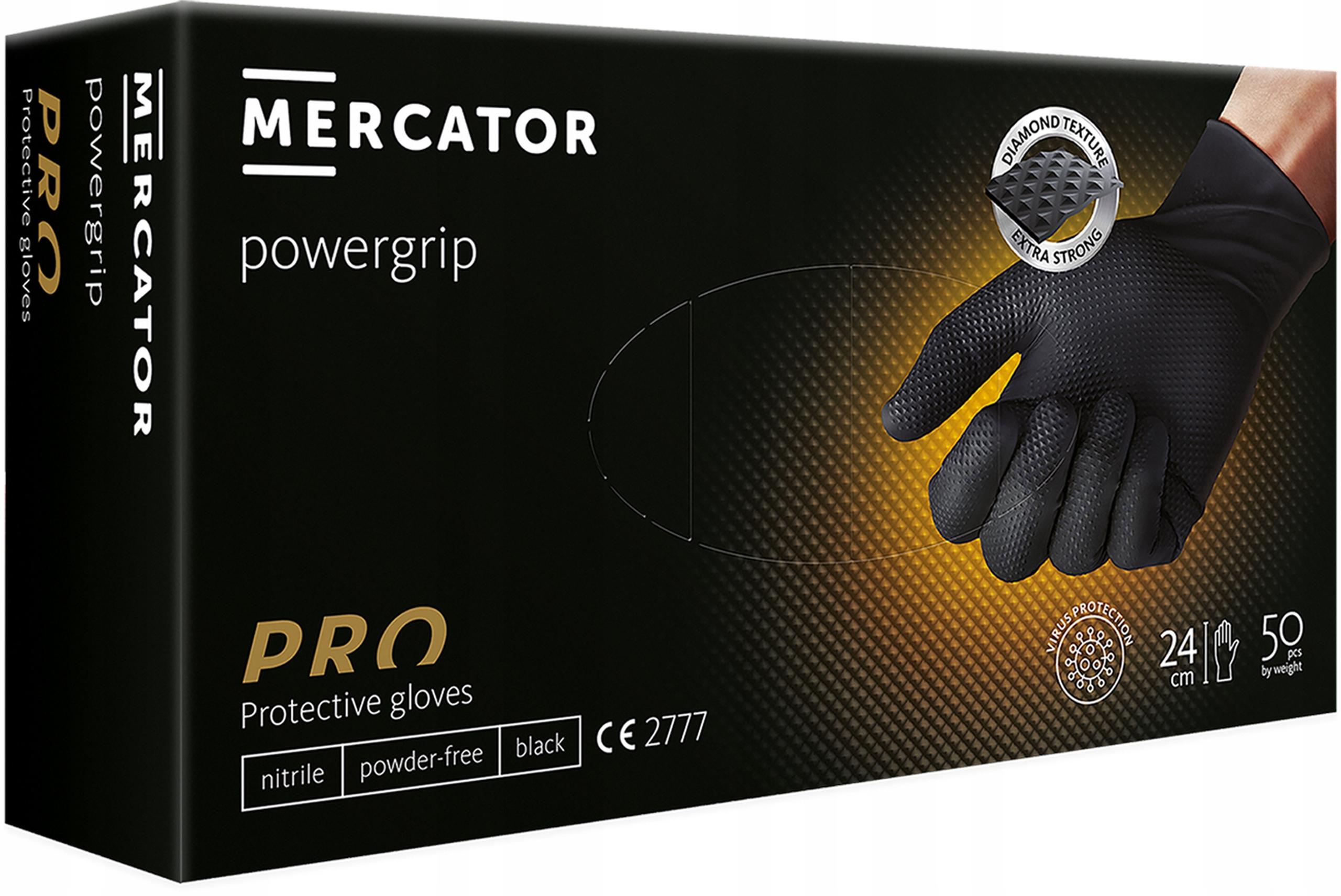 Нитриловые перчатки POWERGRIP для мастерских