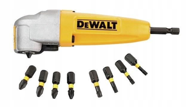 DeWALT DT71517 Uhlové pripevnenie hlavy + BITS