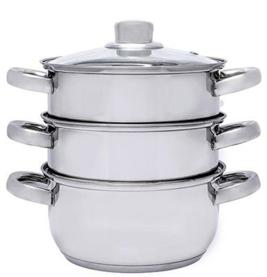 GARNEK do gotowania na parze EDEL HOFF 4el PAROWAR