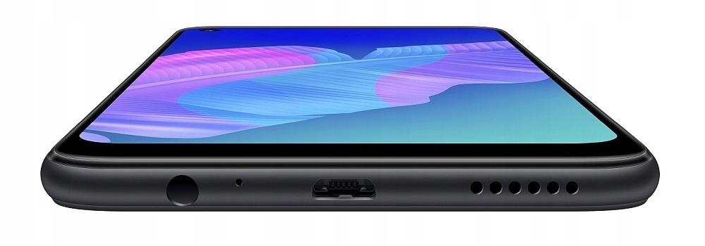 Czarny Smartfon HUAWEI P40 Lite E 4/64GB Pie Wyjmowana bateria nie
