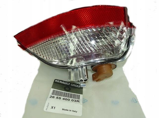 лампа заднего вида сзади правый scenic iii 265540003r oe