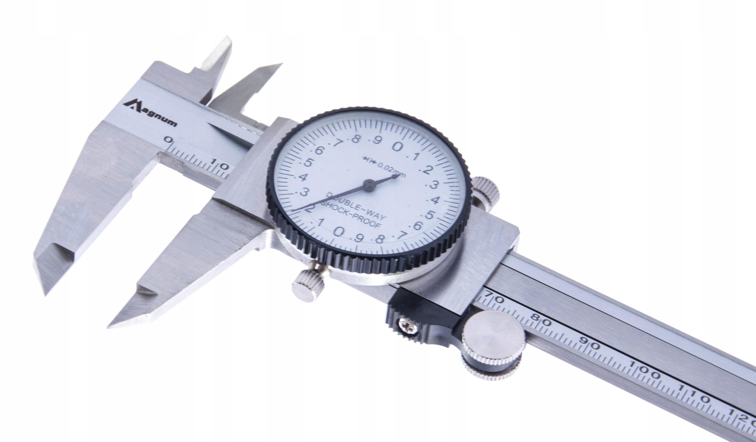 SUWMIARKA ZEGAROWA CALOWA METRYCZNA 150 0,02 mm
