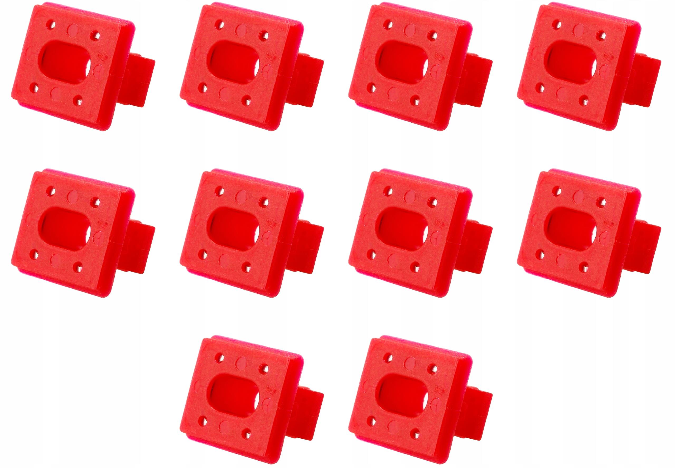 10x шпилька кубик гнездо плинтуса bmw 3 e46 e65 e83