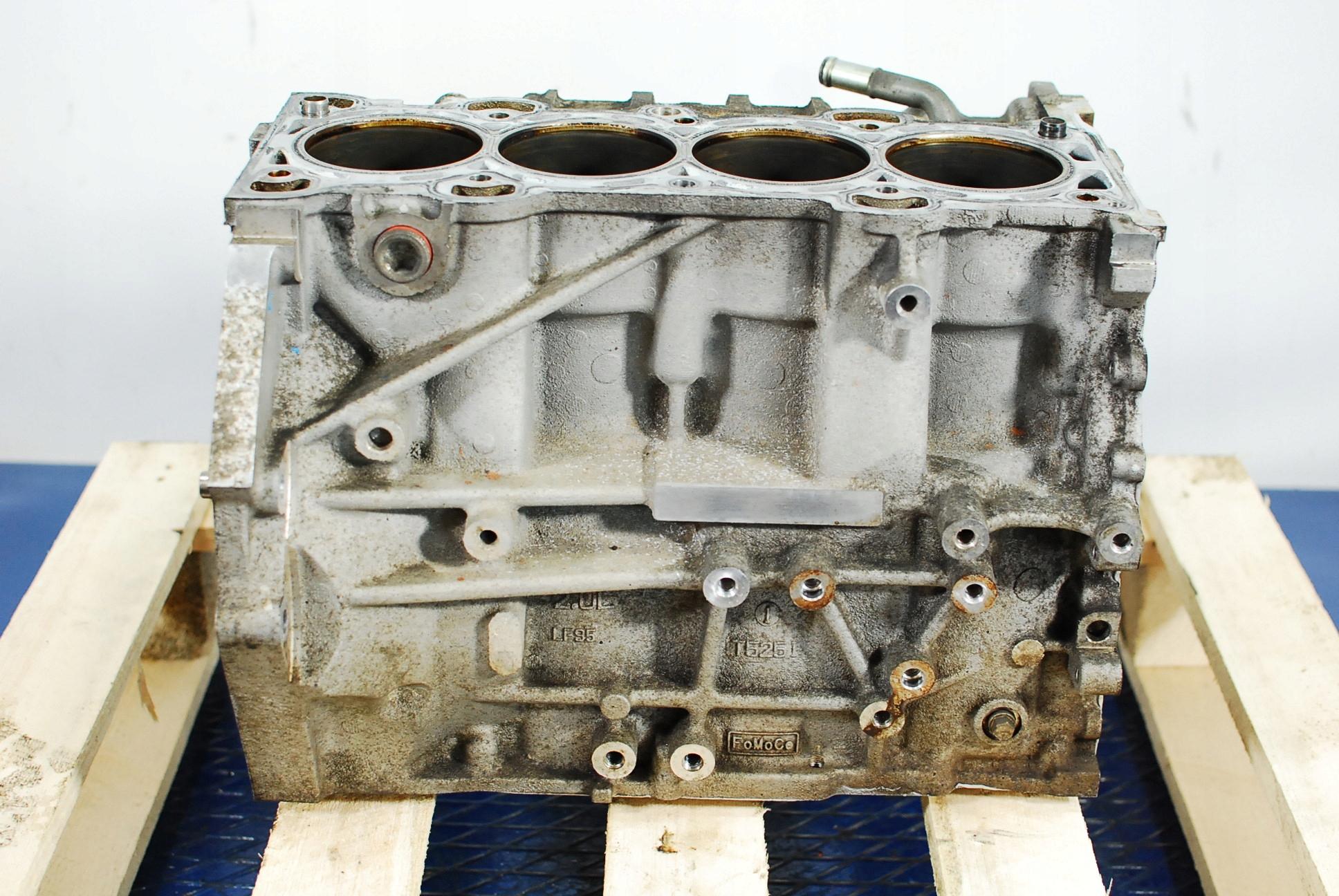 mazda 6 gg 20b 147km блок двигателя lff7