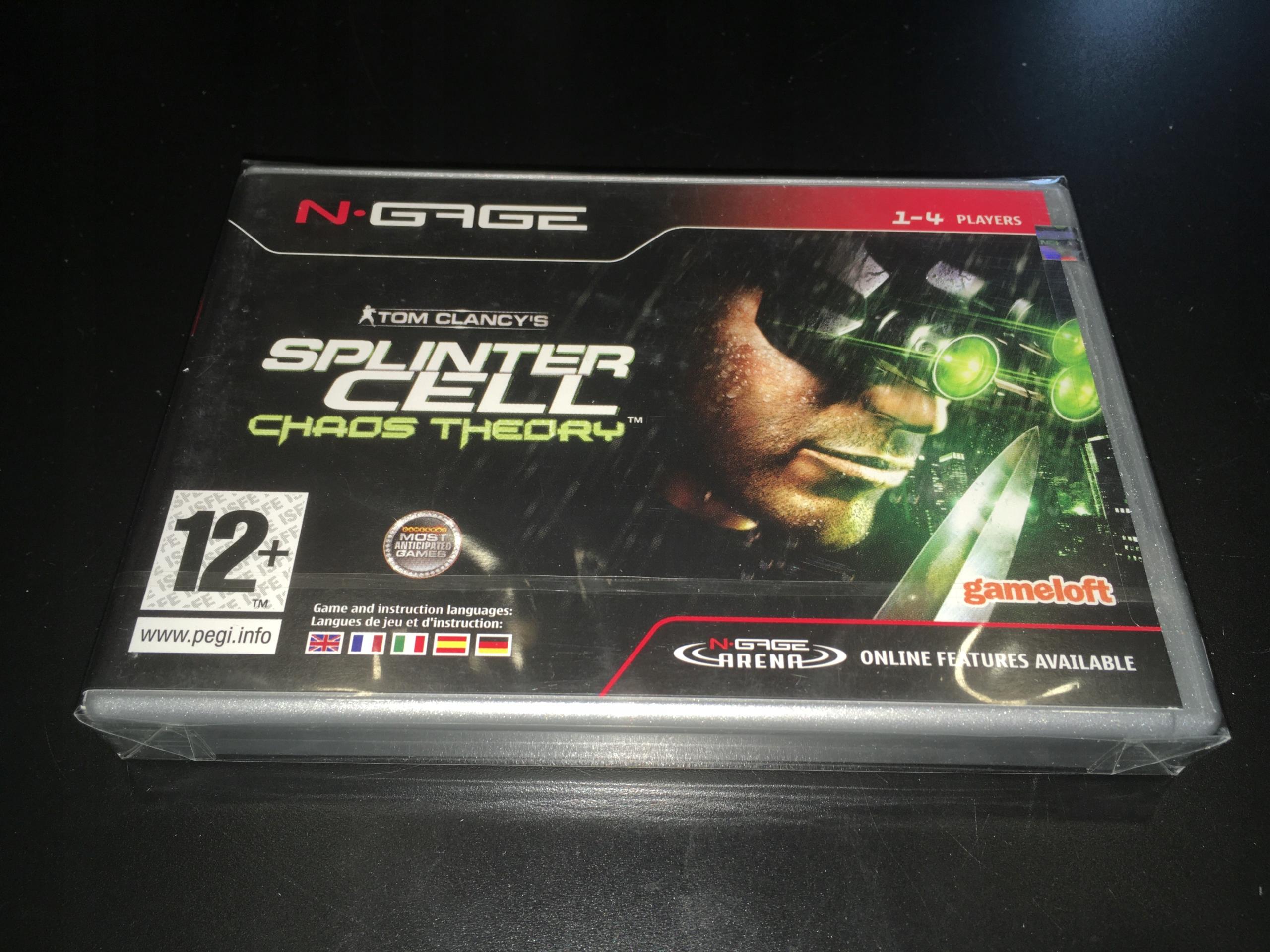 Splinter Cell Chaos Theory / Nokia N-Gage
