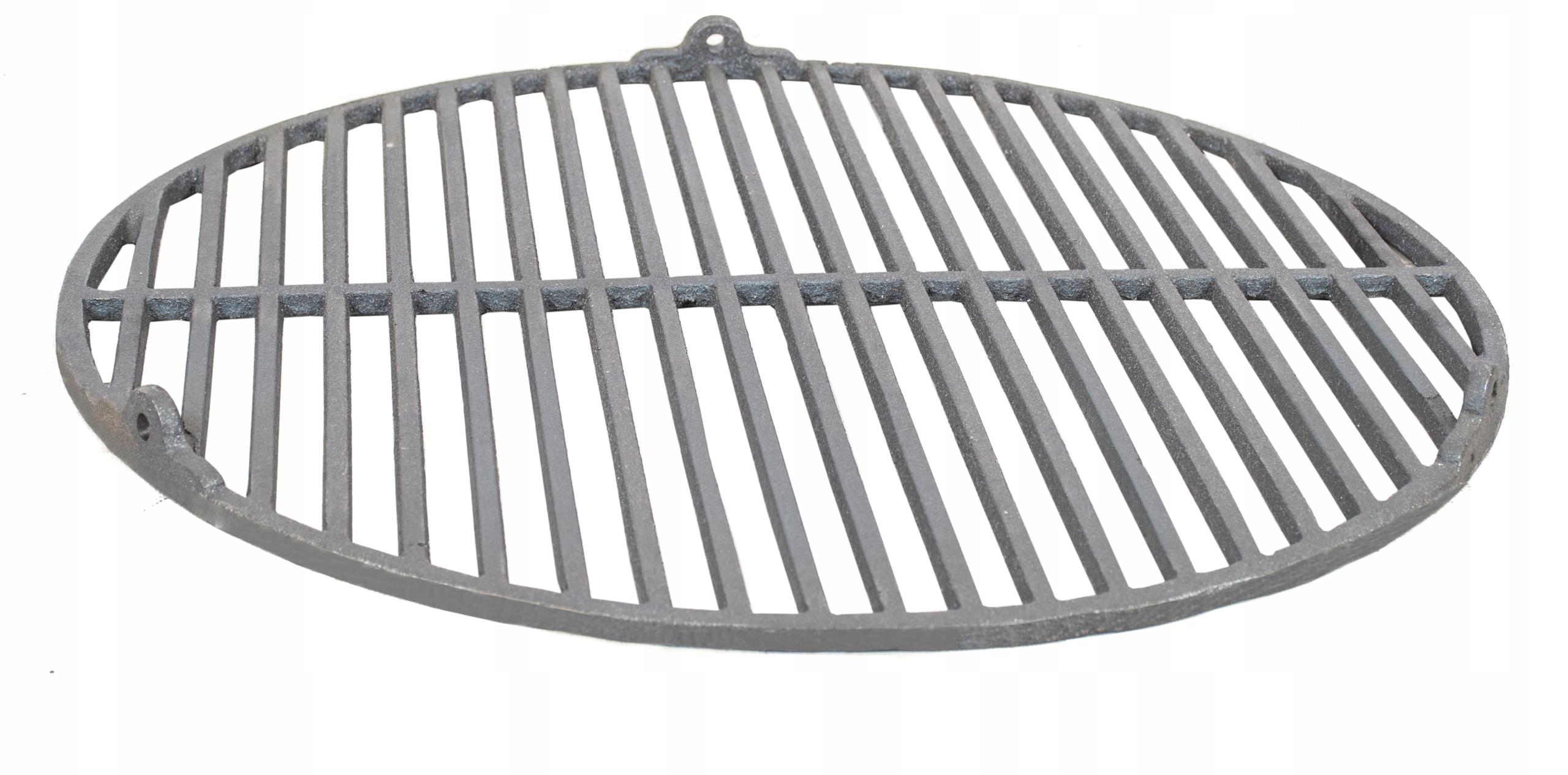 RUSZT ŻELIWNY na grilla OKRĄGŁY GRILL FI54 Szerokość grilla 54 cm