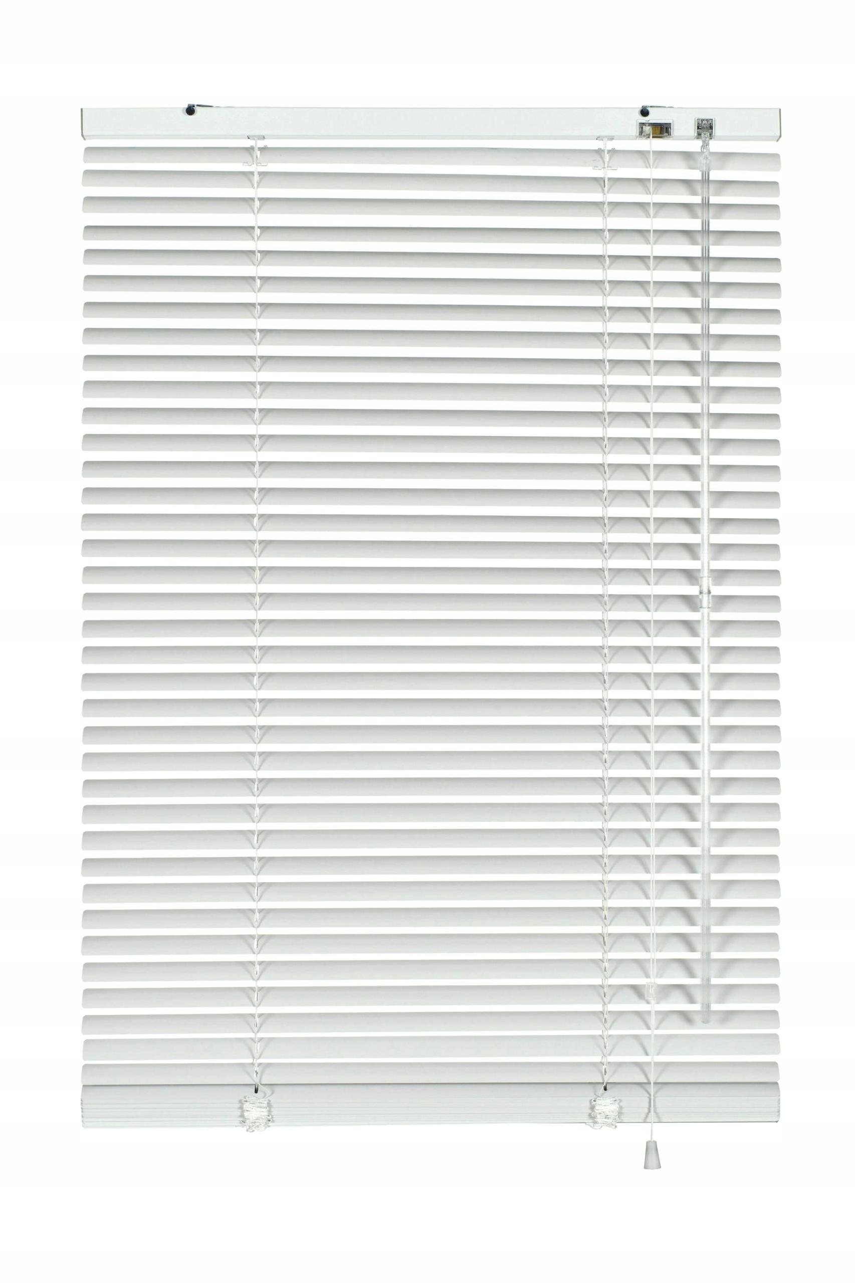 Żaluzja aluminiowa biała 25 mm 95 x 130 cm