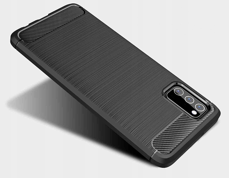 ETUI do Samsung Galaxy A02S PANCERNE KARBON +SZKŁO Kod producenta D106