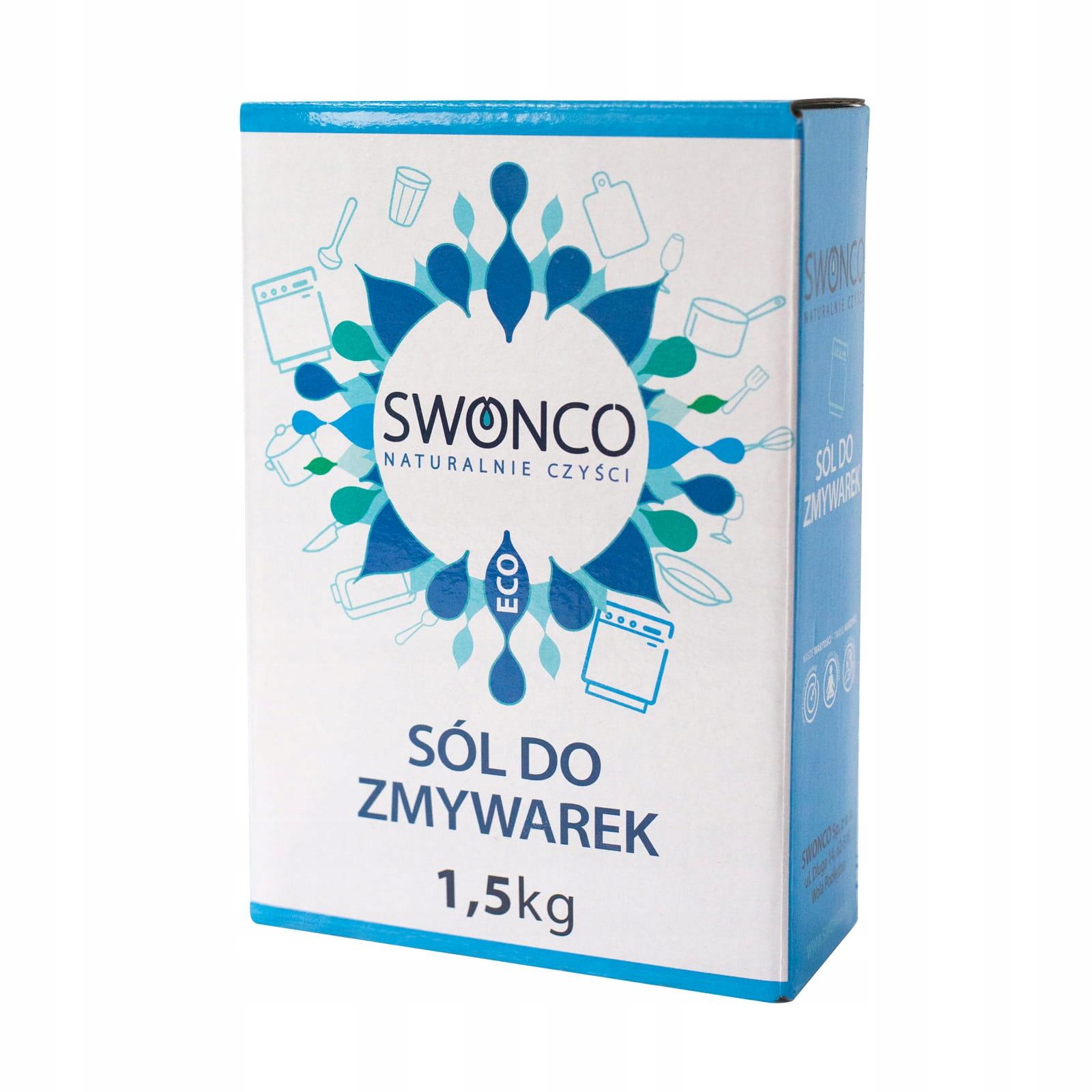 Соль для посудомоечных машин SWONCO
