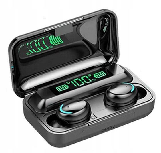 Słuchawki Bezprzewodowe Bluetooth 5.0 Powerbank