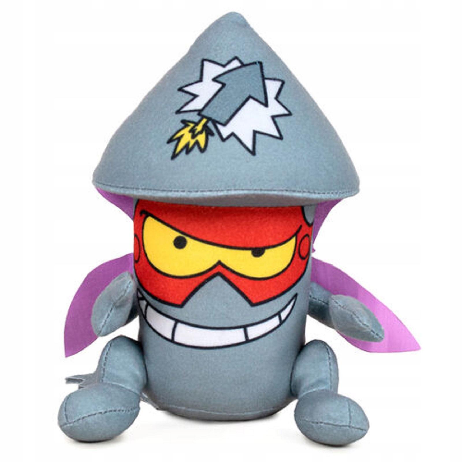 Maskot Super Zings TIM ROCKET 33 cm Plyšová hračka