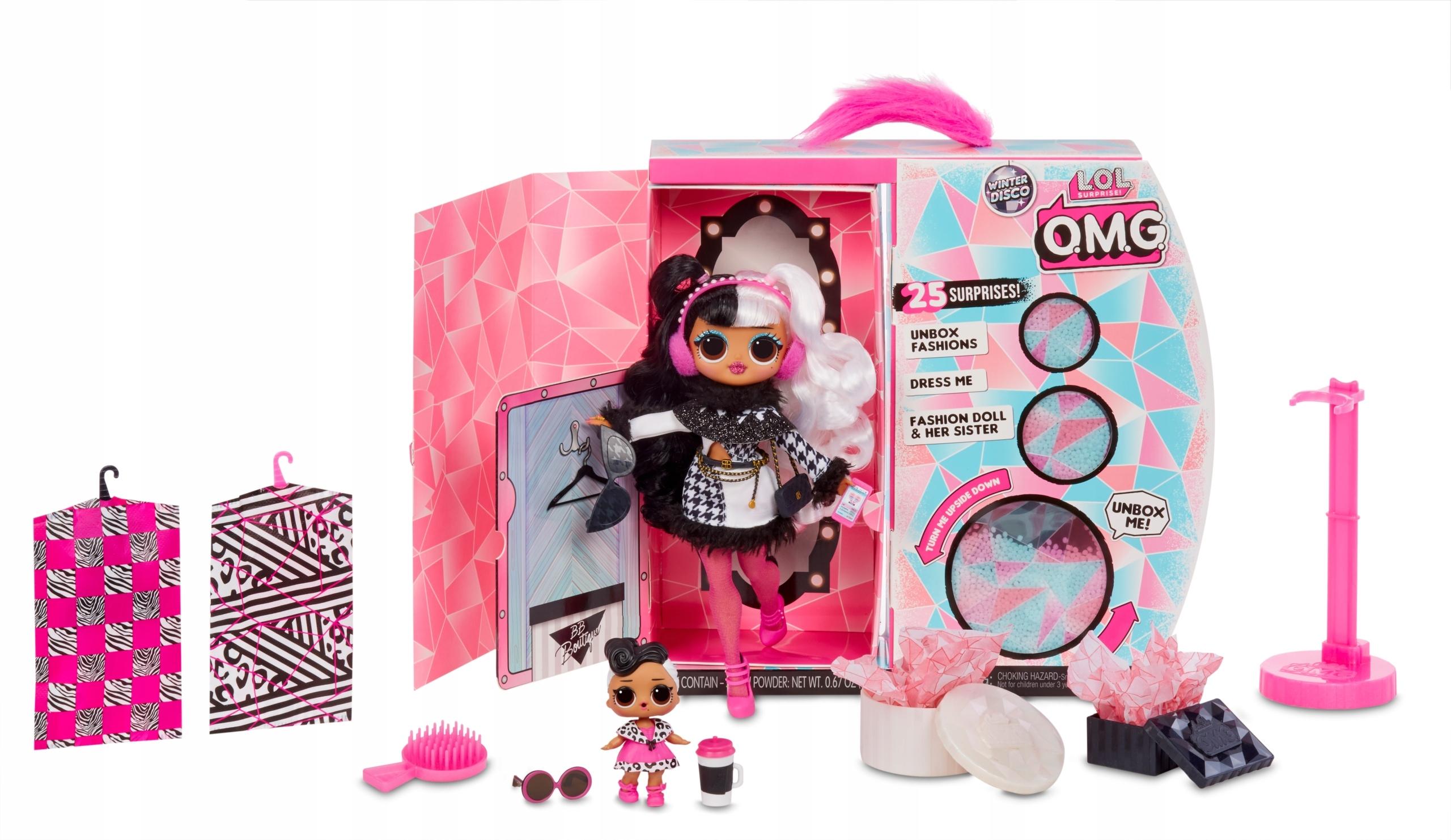 LOL Surprise OMG Winter Disco Doll MGA