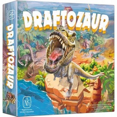 GRA PLANSZOWA DRAFTOZAUR najlepsza gra dinozaurach