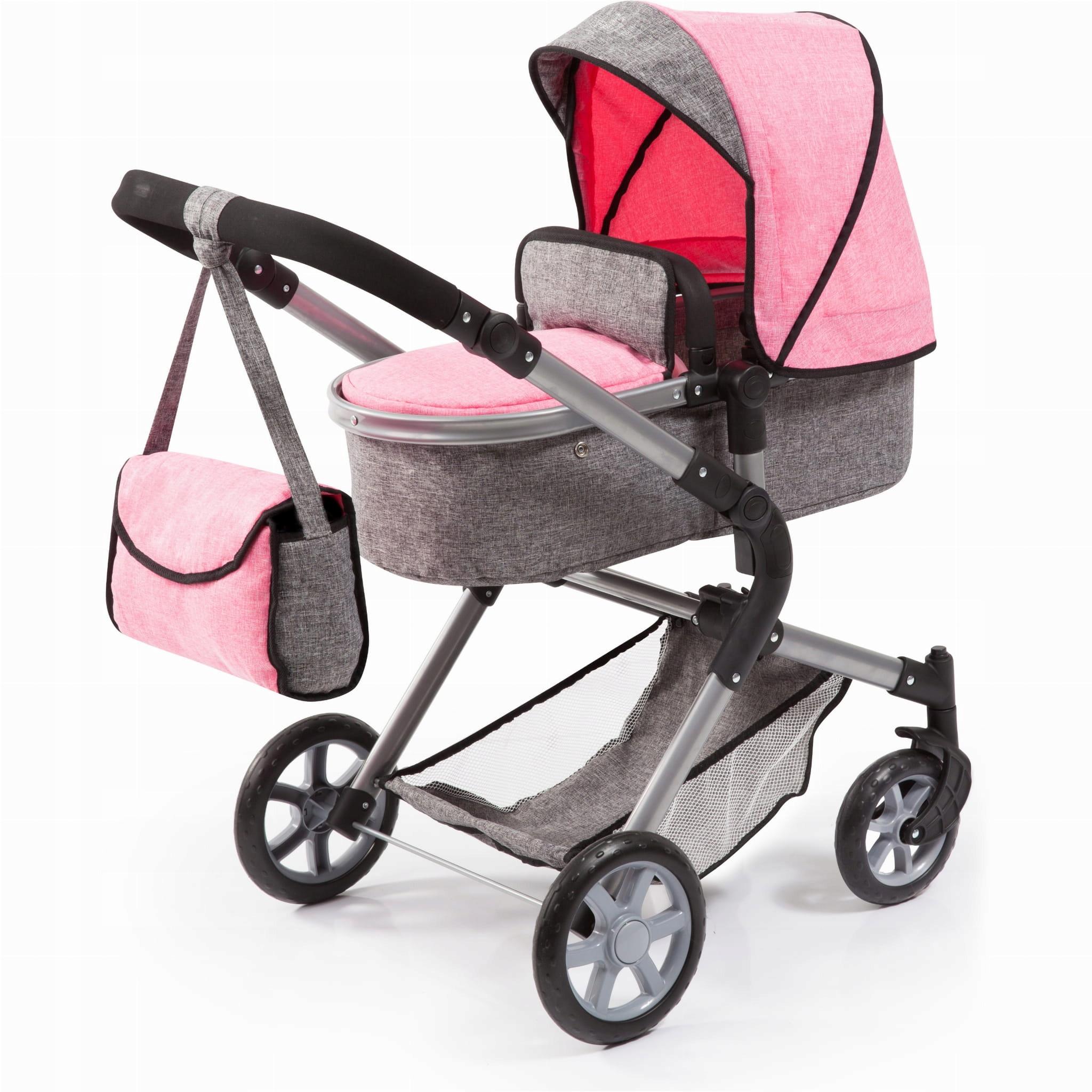 Vozík na bábiky Bayer Design 18 125 2 v 1
