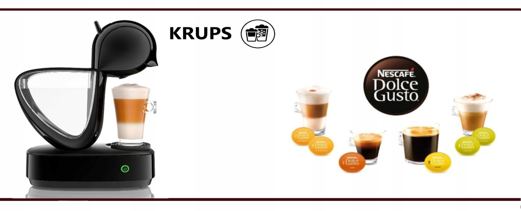 Krups Dolce Gusto INFINISSIMA кофемашина для капсул Глубина продукта 28 см