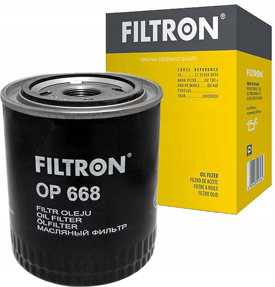 фильтр масла filtron к man tgx