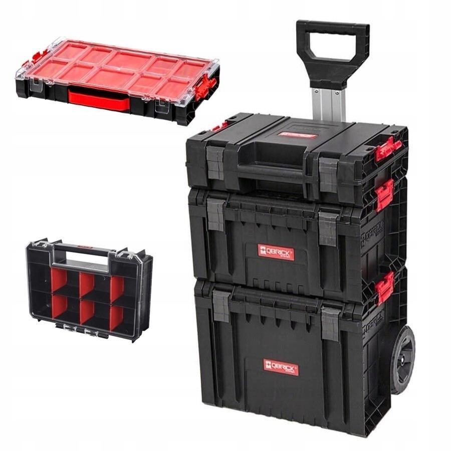 Ящик для инструмента на колесах Qbrick PRO Set 5in1