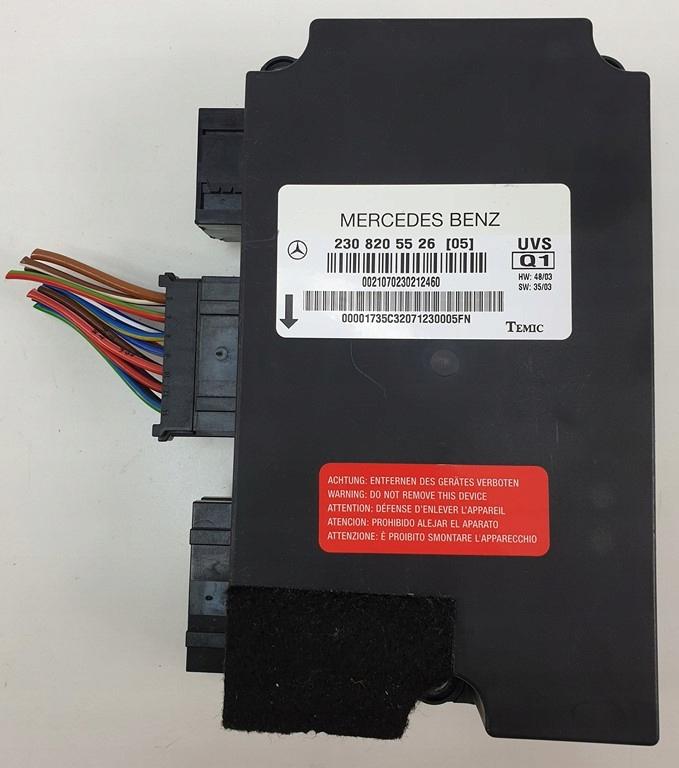 модуль драйвер крыши mercedes sl r230 a2308205526