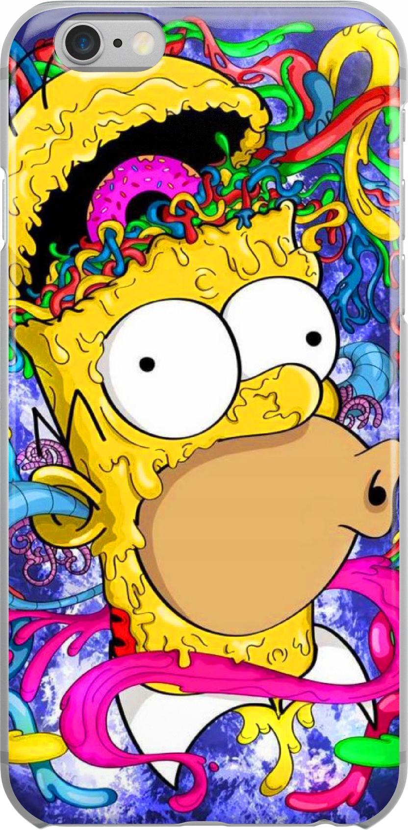 Etui Wzory Simpsons2 Huawei P9