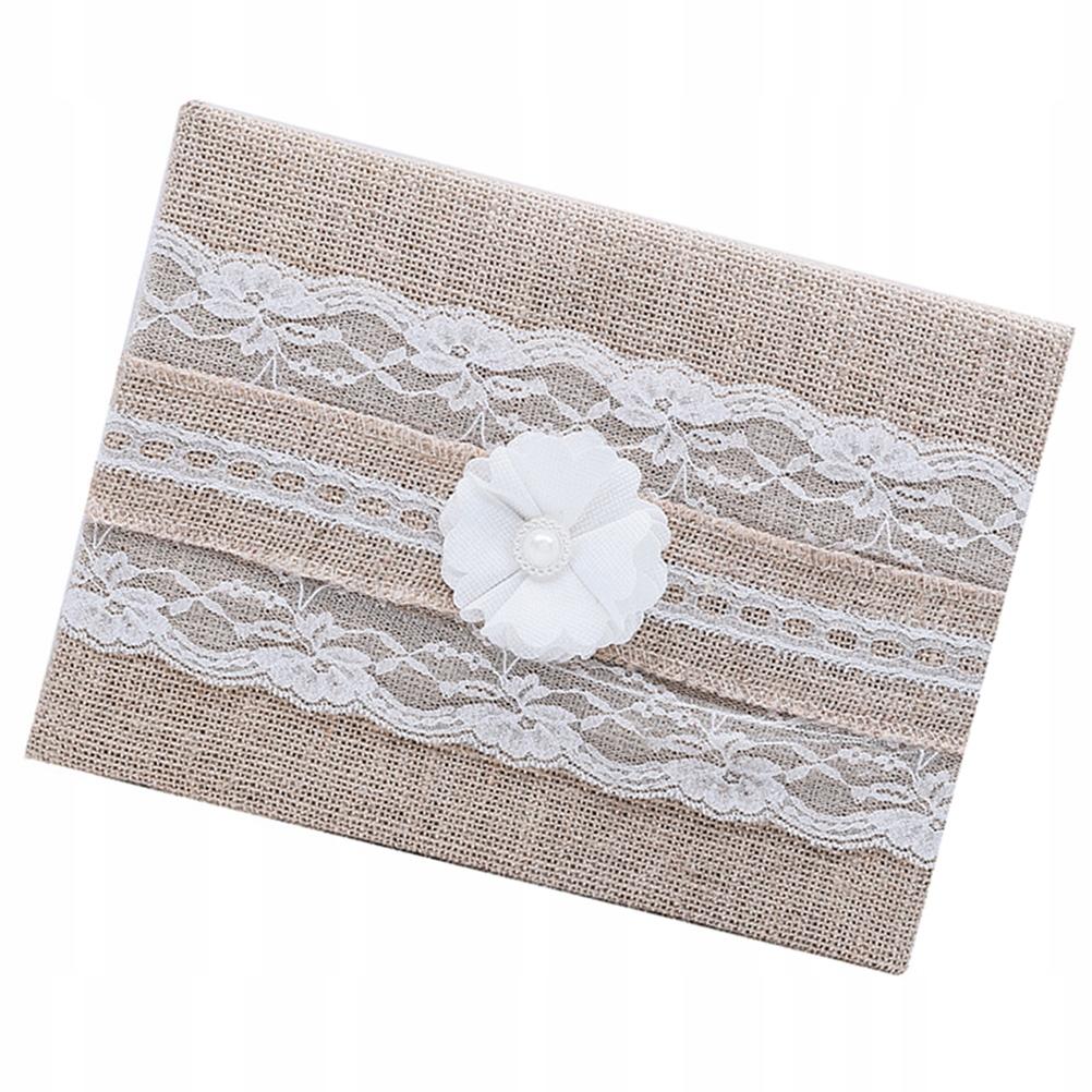 Kniha hostí Retro čipkovaný kvet Jemné prádlo