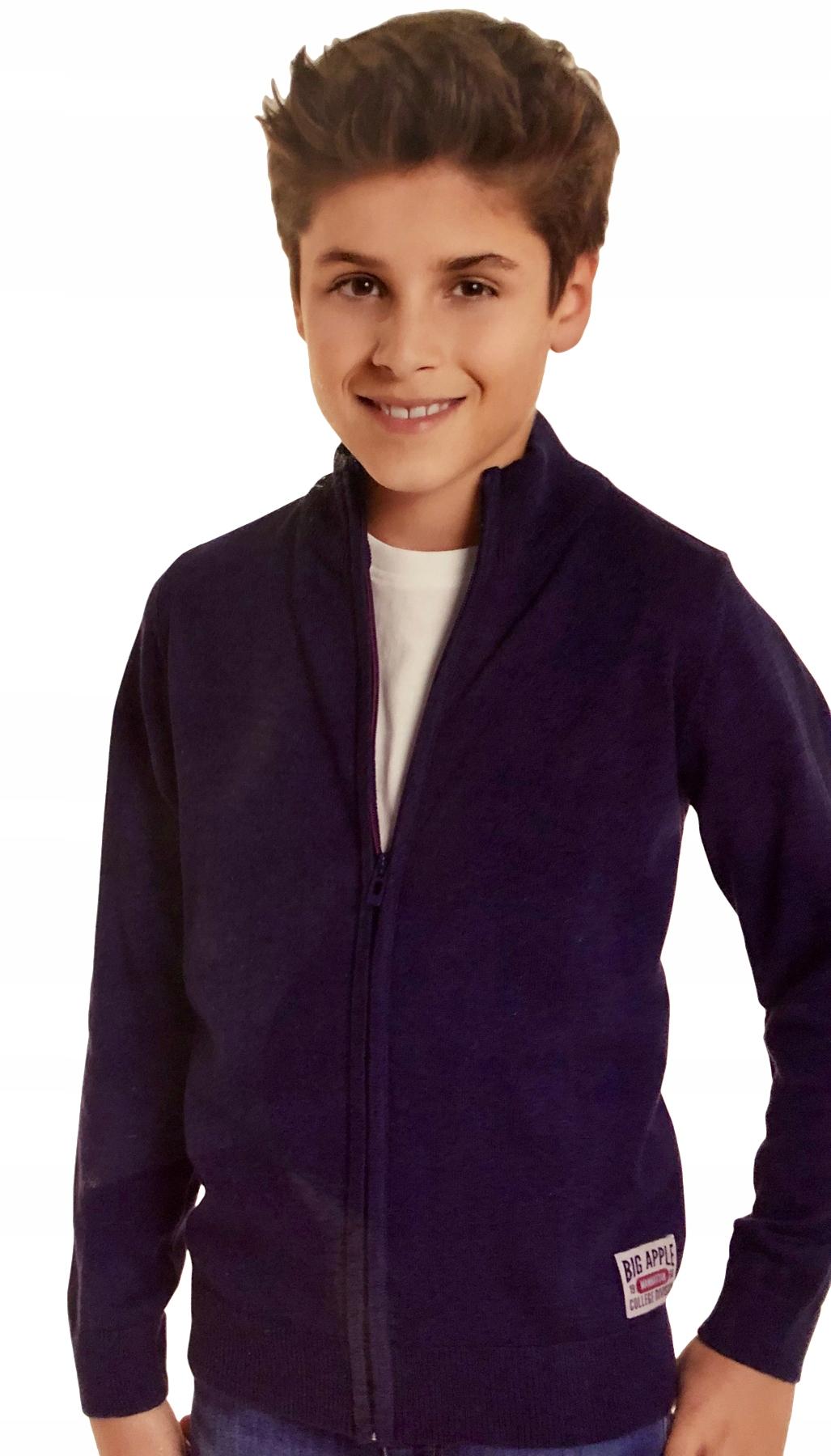 Bawełniany sweter sweterek na suwak *146