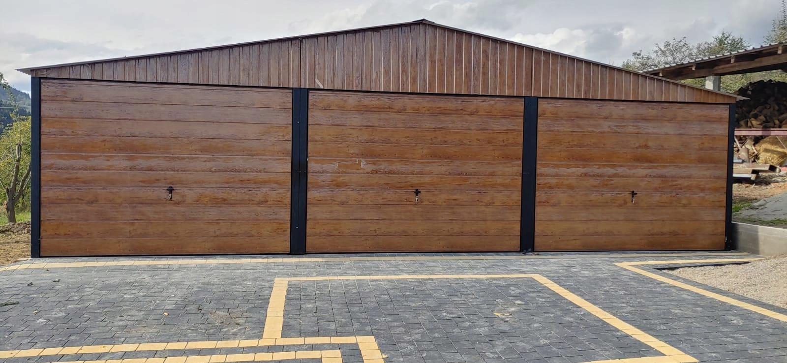 Garaż blaszany 9x6 garaże blaszane blaszak schowek