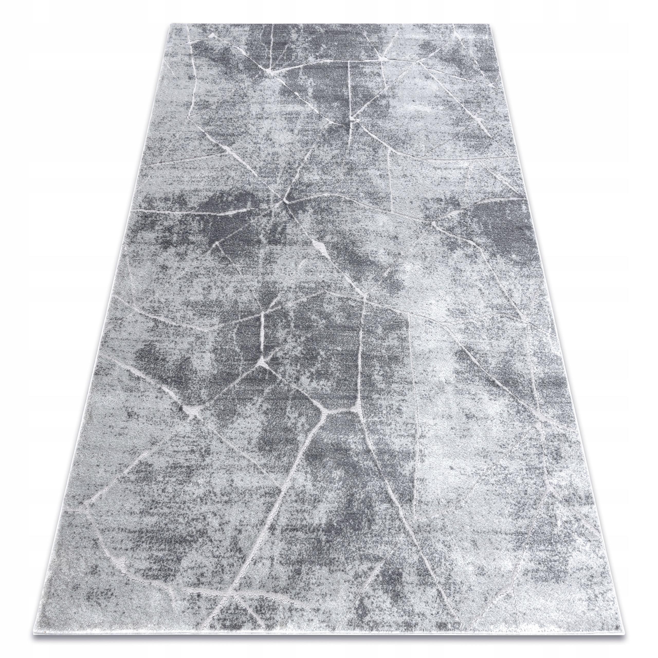 Koberec MEFE MODERNÝ KOBEREC 80x150 MRAMORU šedá #AT466