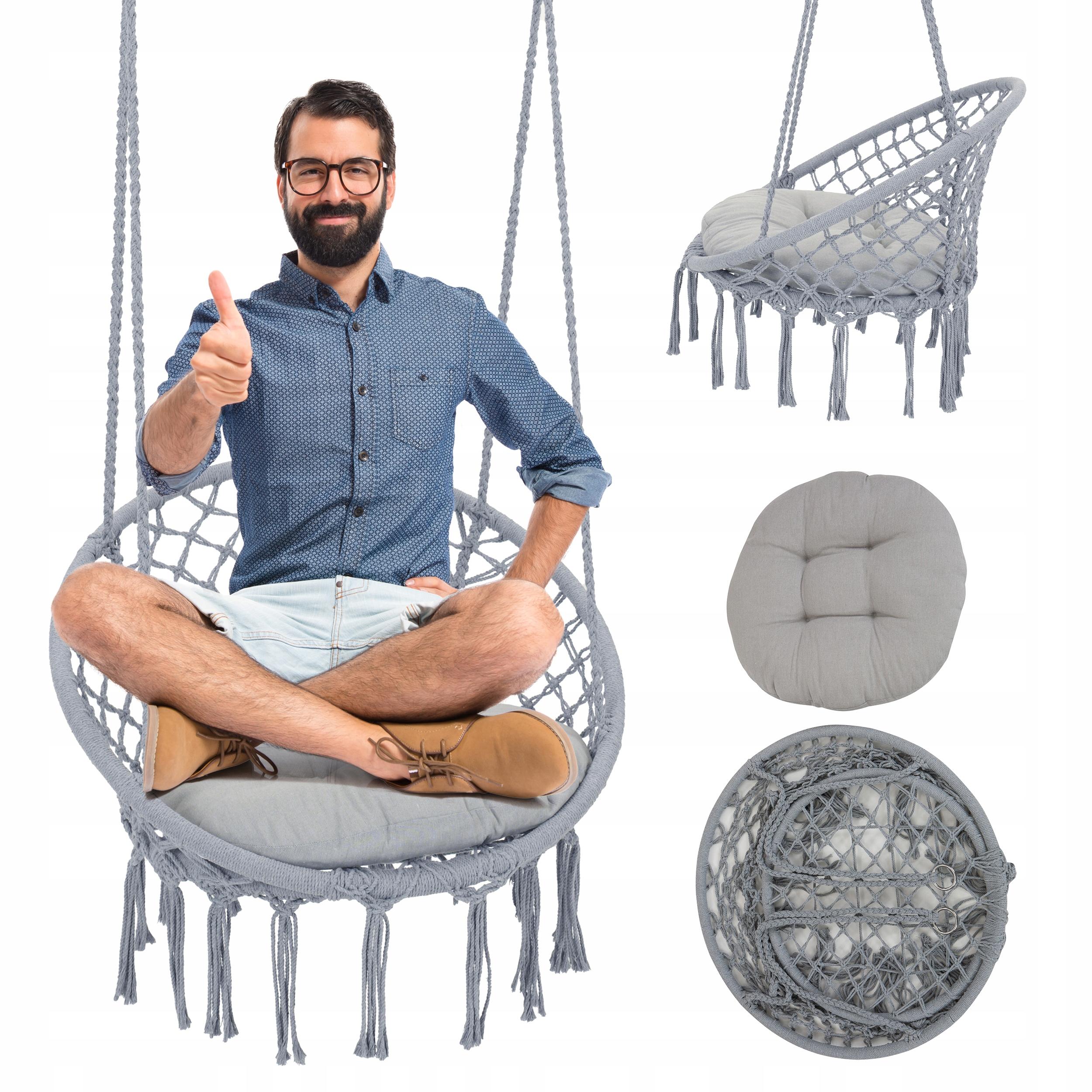 Кресло, качели садовые - BOHO аистовое гнездо