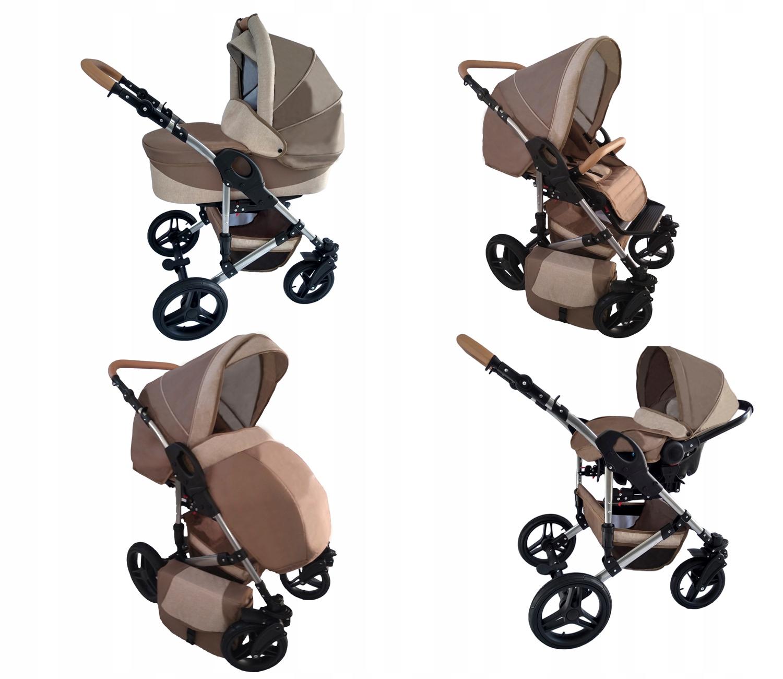 Wózek dziecięcy 3w1 Zdjecia na żywo